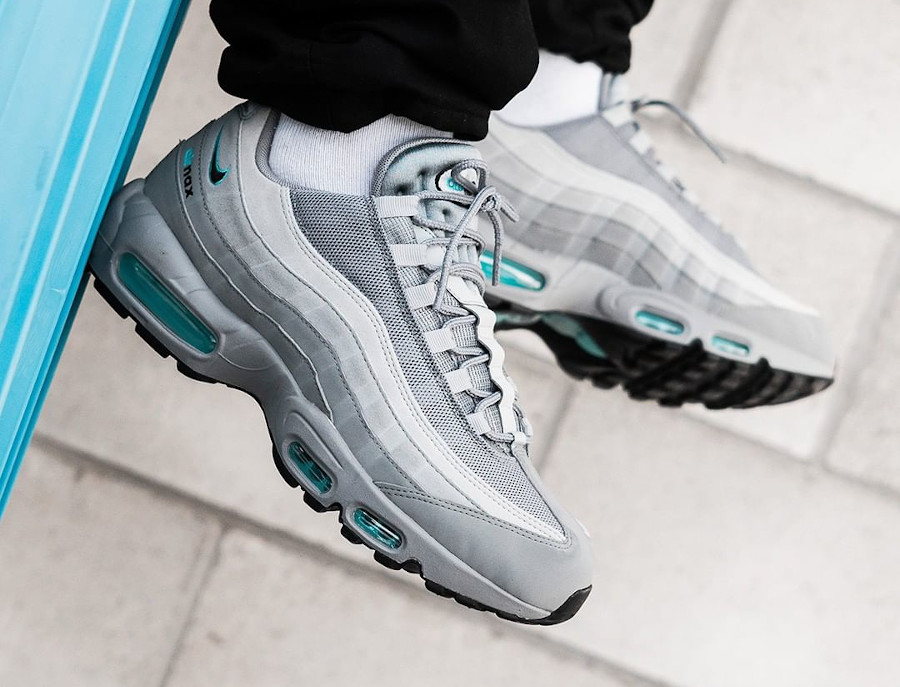 Nike Air Max 95 Grey Aqua (JD Sports Exclusive 2020)
