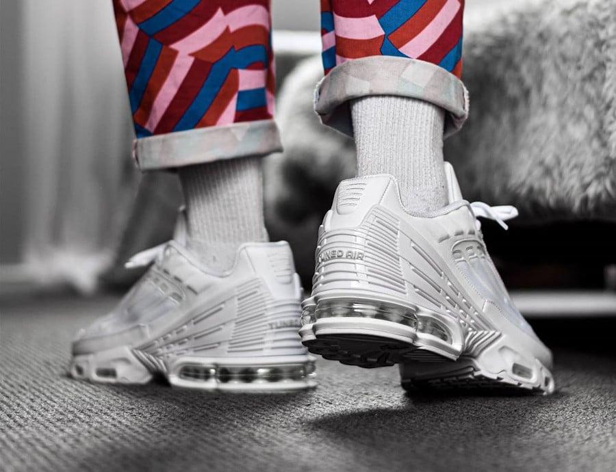 Nike Air Max Plus 3 Triple White Vast Grey (3)