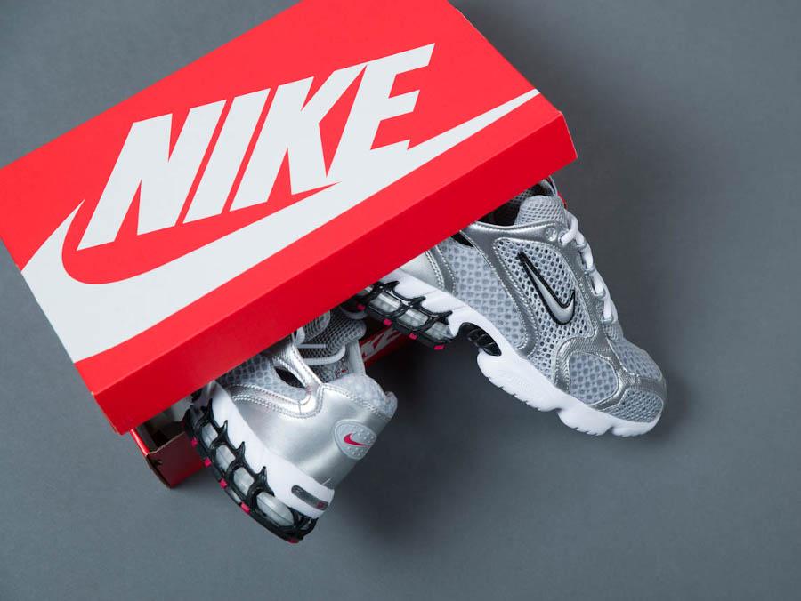 Nike Air Zoom Spiridon Cage 2 OG Metallic Silver 2020 (1)