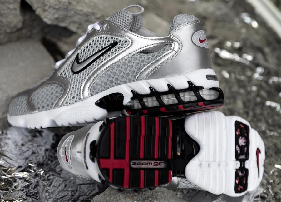 Nike Air Zoom Spiridon Cage 2 OG Metallic Silver 2020 (4)
