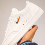 Nike Court Vintage Premium 2020 'White Total Orange'