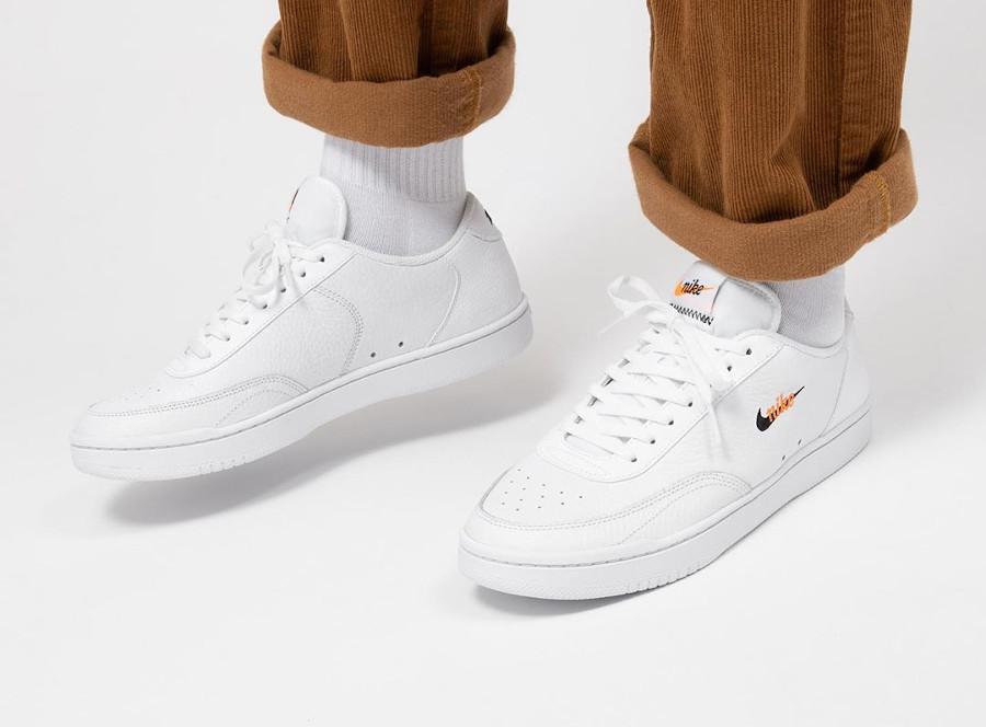 Nike Court Vintage Premium 'White Total Orange' (2)
