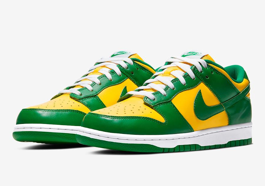 Nike Dunk Low SP Brazil sortie france