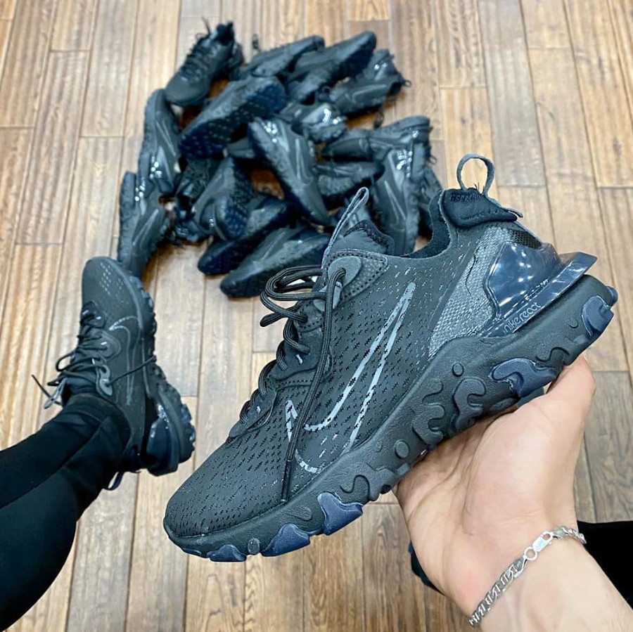 Nike React Vision Dimsix Triple Black Antracite CD4373-004
