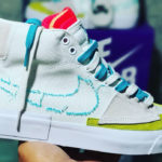 Nike SB Blazer Mid Edge Hack Pack 'Summit White Oracle Aqua'