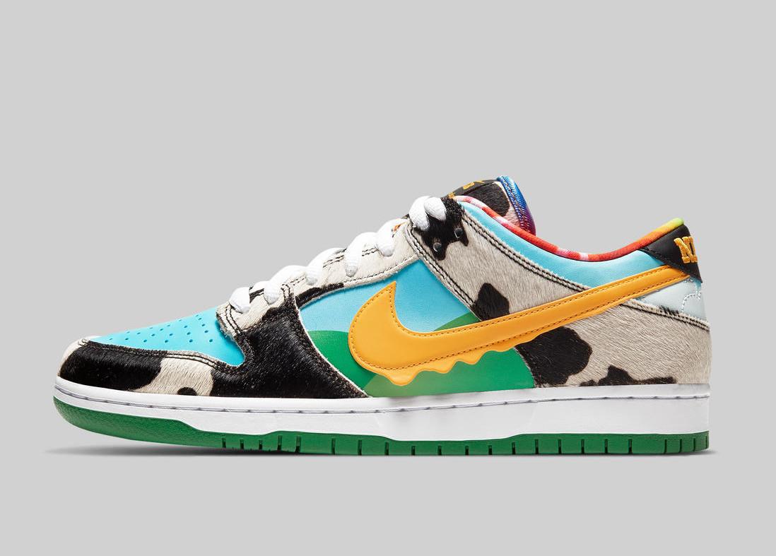 Nike SB Dunk Low Pro Ben & Jerry's sortie en france