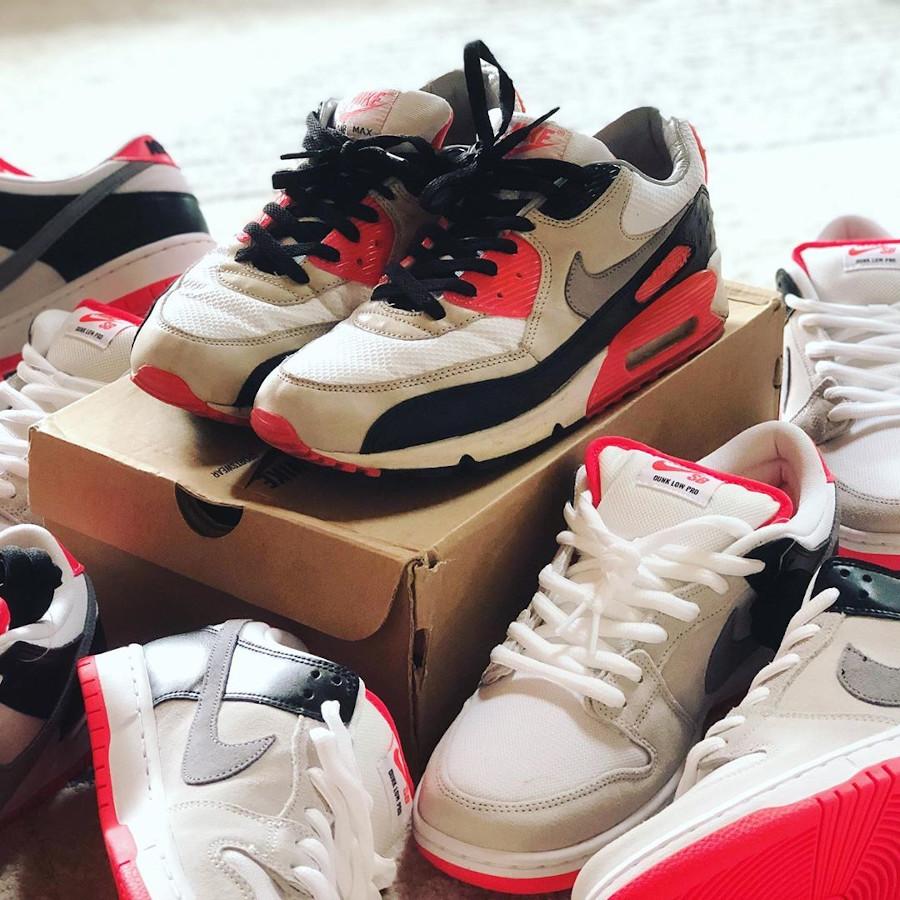 Nike SB Dunk Low Pro Infrared (2020) - @yauchuckwa