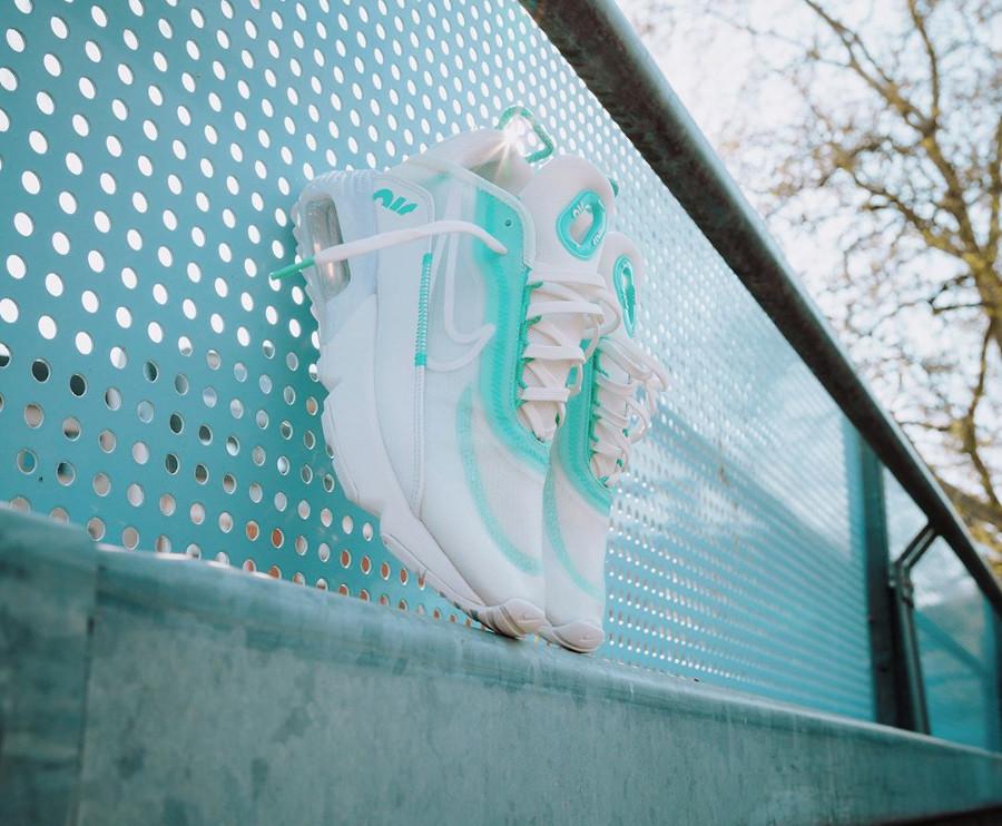 Nike Wmns Air Max 2090 'Aurora Green Sail Summit White' (3)