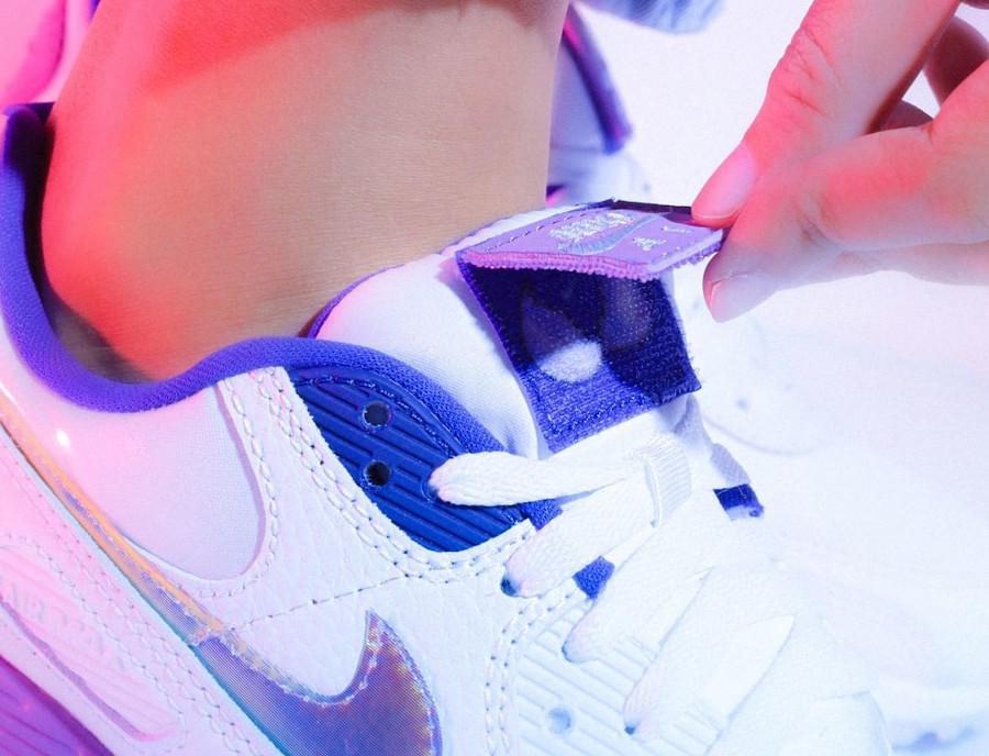 Nike Wmns Air Max 90 SE Easter 2020 (Multicolor Purple Nebula) (3)