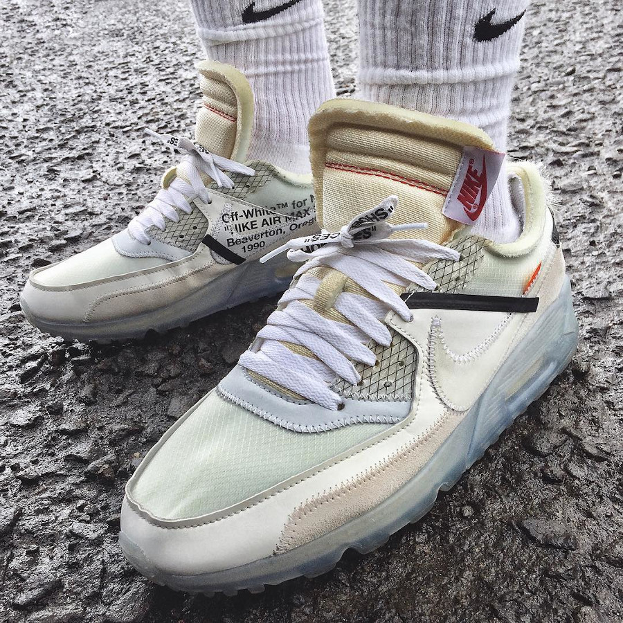 Off White x Nike Air Max 90 The Ten - @actz_nyap