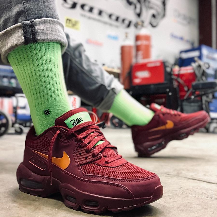 Patta x Nike Air Max 95 90 By You - @thekid.james