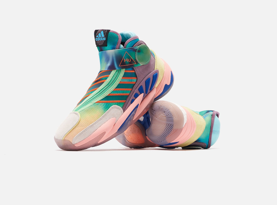Pharrell Williams x Adidas 0 to 60 STMT HU 'Tie Dye' (March Madness Pack) (1)