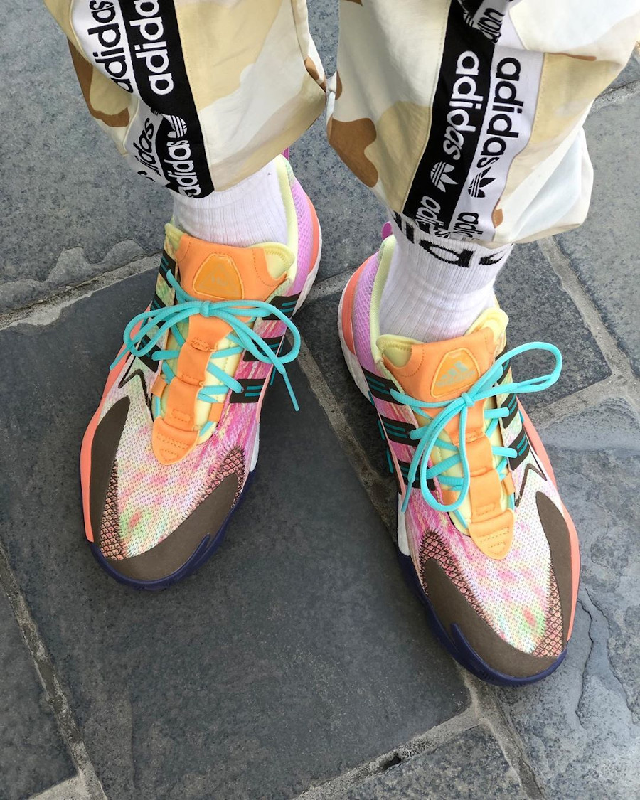 Pharrell Williams x Adidas Crazy BYW 2.0 'Tie Dye' (March Madness)