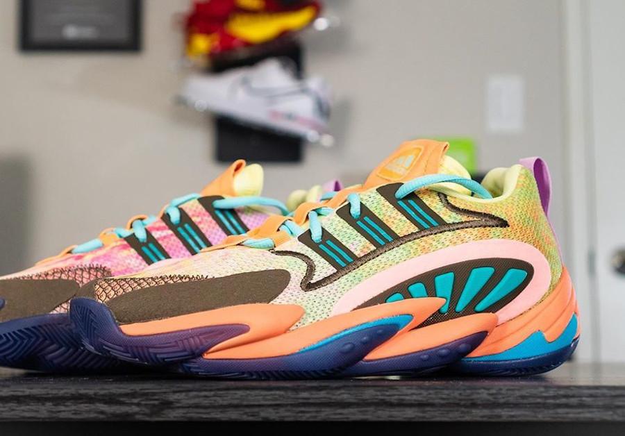 Pharrell Williams x Adidas Crazy BYW 2.0 'Tie Dye Multicolor' (2)