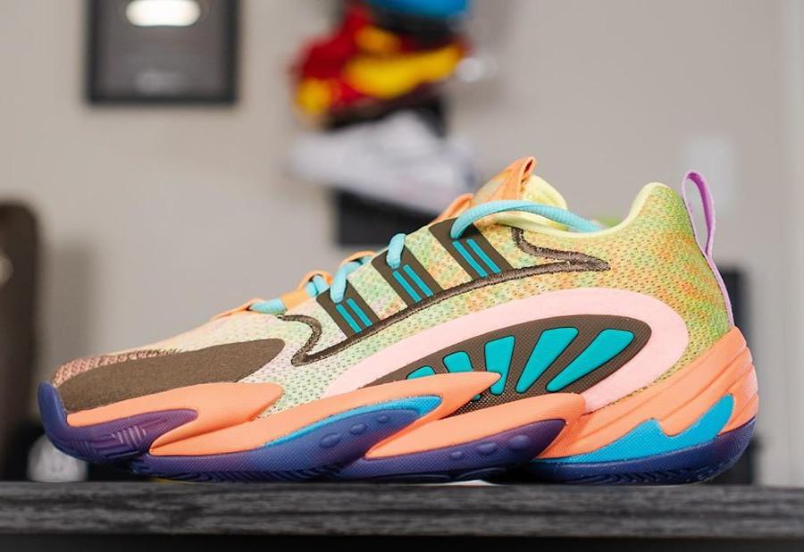 Pharrell Williams x Adidas Crazy BYW 2.0 'Tie Dye Multicolor' (3)