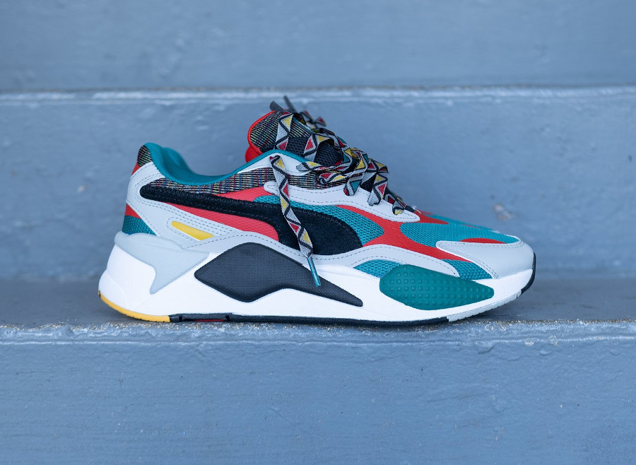 Puma RS-X³ Afrobeat Mix Teal Green (2)