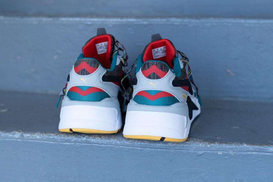Puma RS-X³ Afrobeat Mix Teal Green (4)