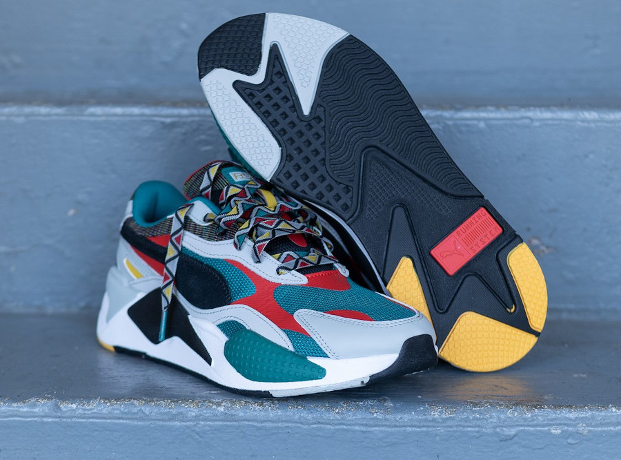 Puma RS-X³ Afrobeat Mix Teal Green (5)