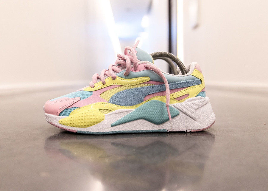 Puma RS-X³ Plastic Wn's 'Pastel' Gulf Stream Sunny Lime (3)
