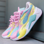 Puma RS-X³ Plastic Wn's 'Pastel' Gulf Stream Sunny Lime