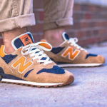 Levi's x New Balance 1300 Denim 'Orange Tab' (made in USA)