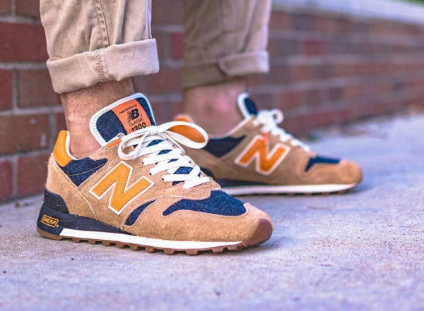 Restock New Balance M1300LV Levi's Denim Orange Tab
