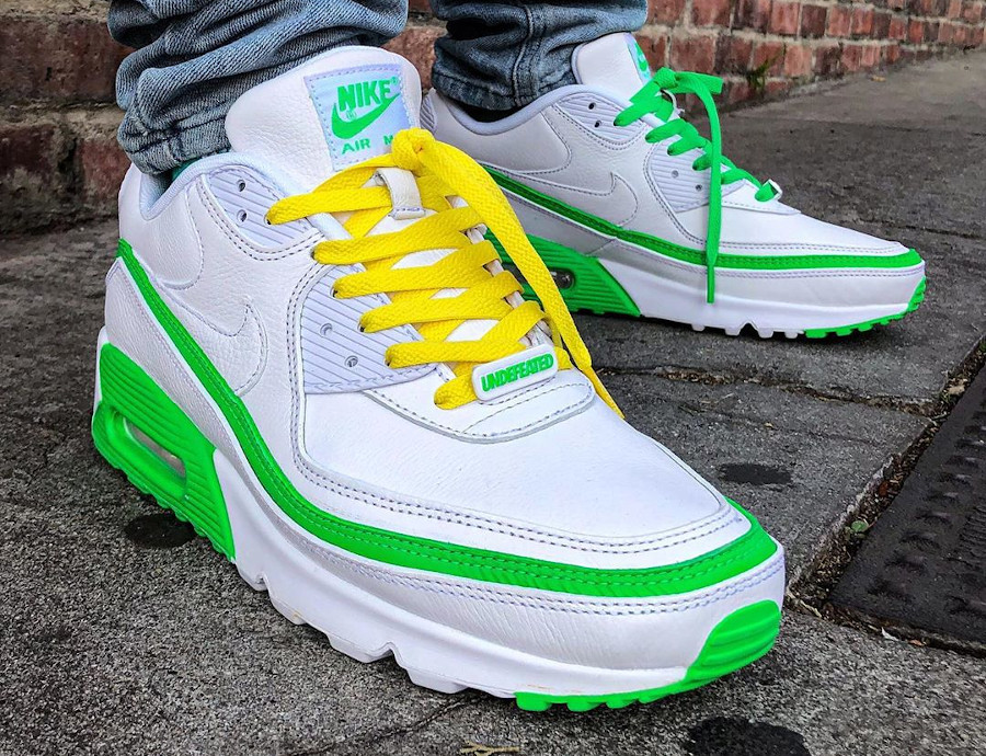 Undefeated x Nike Air Max 90 - @freehandprofit