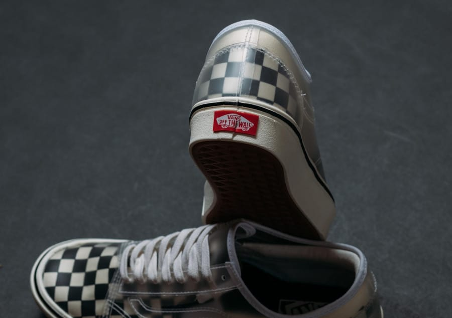 Vans Comfycush Slip Skool Checkerboard 'Black White' (4)