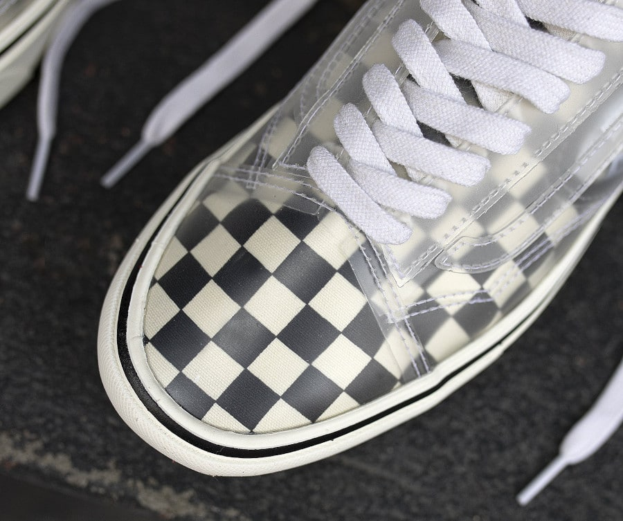 Vans Comfycush Slip Skool Checkerboard 'Black White' (5)