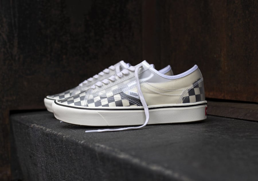 Vans Slip Skool Checkerboard Black White VN0A4P3E5GX