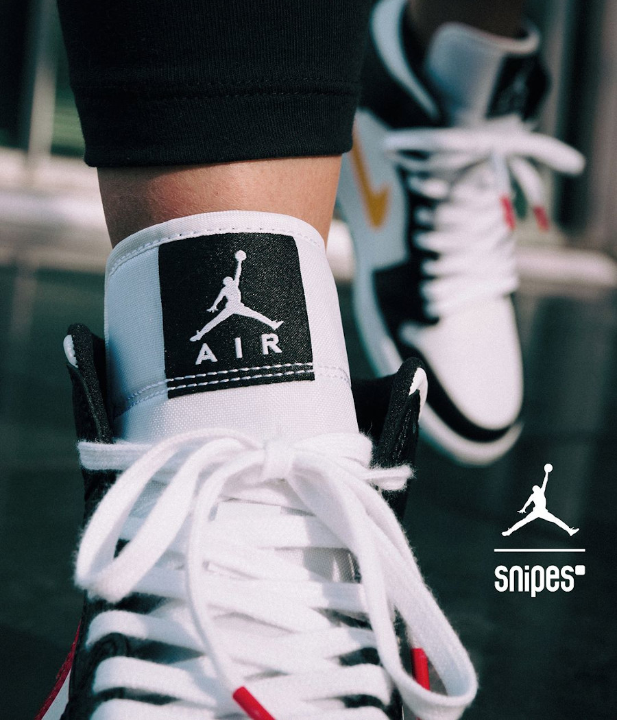 Women's Air Jordan 1 Mid Alternate Swoosh (8)