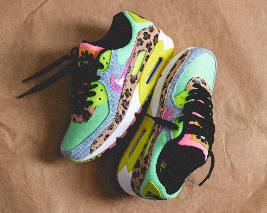 Women's Nike Air Max 90 LX Rave Party (1)