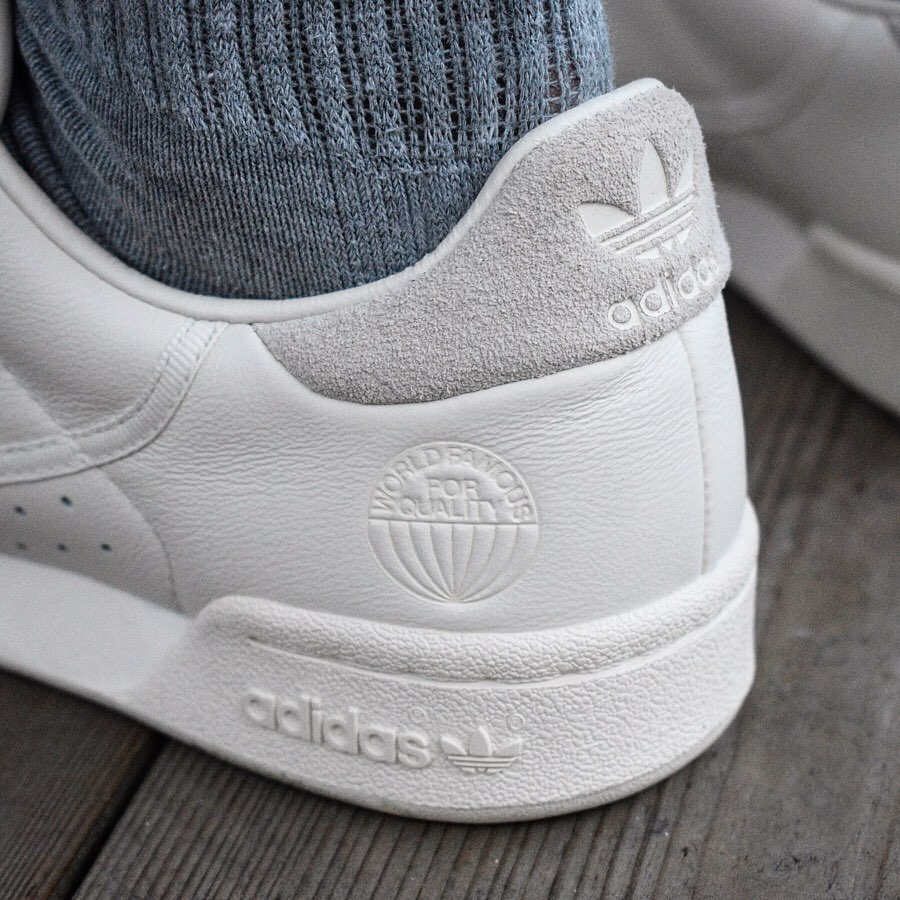 Adidas Continental 80 blanc cassé world famous for quality (4)