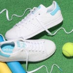 Adidas Stan Smith Cloud White Blue Glow