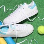 Adidas Stan Smith Cloud White Blue Glow