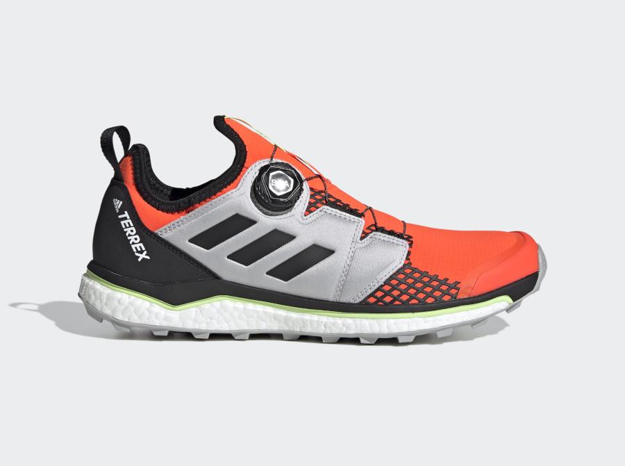 Adidas Terrex Agravic Boa Solar Red Core Black Grey Toe (2)