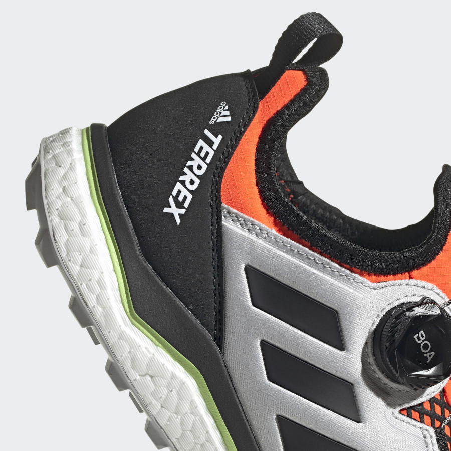 Adidas Terrex Agravic Boa Solar Red Core Black Grey Toe (5)