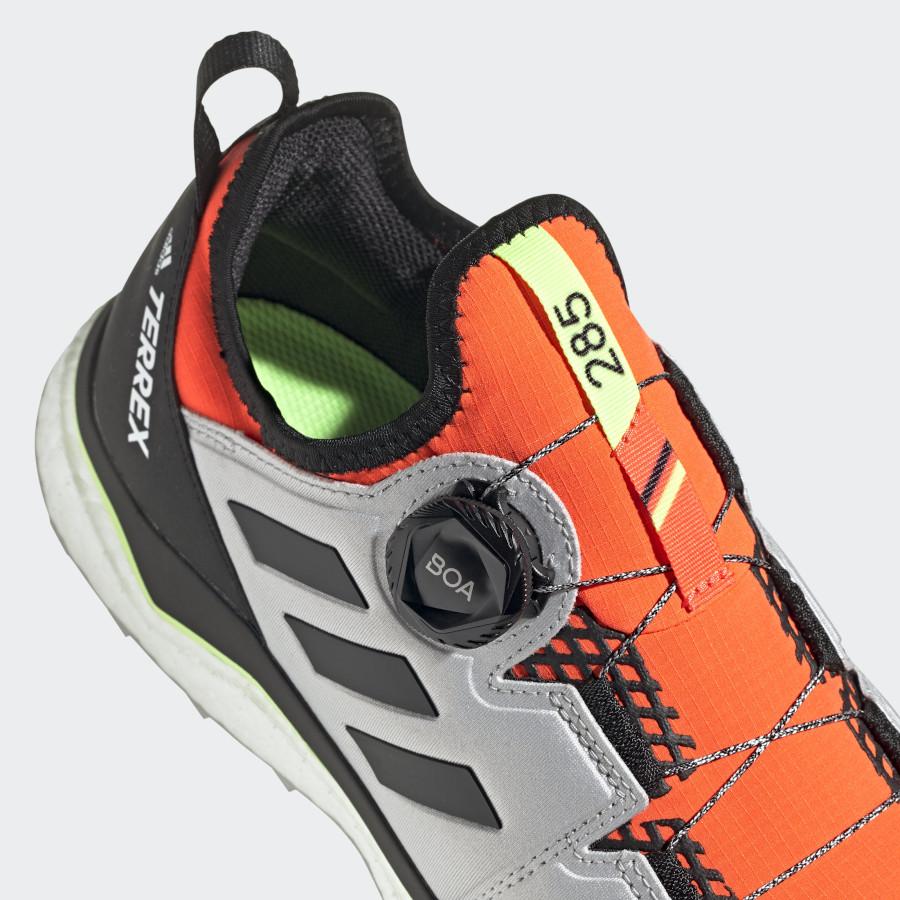 Adidas Terrex Agravic Boa Solar Red Core Black Grey Toe (6)