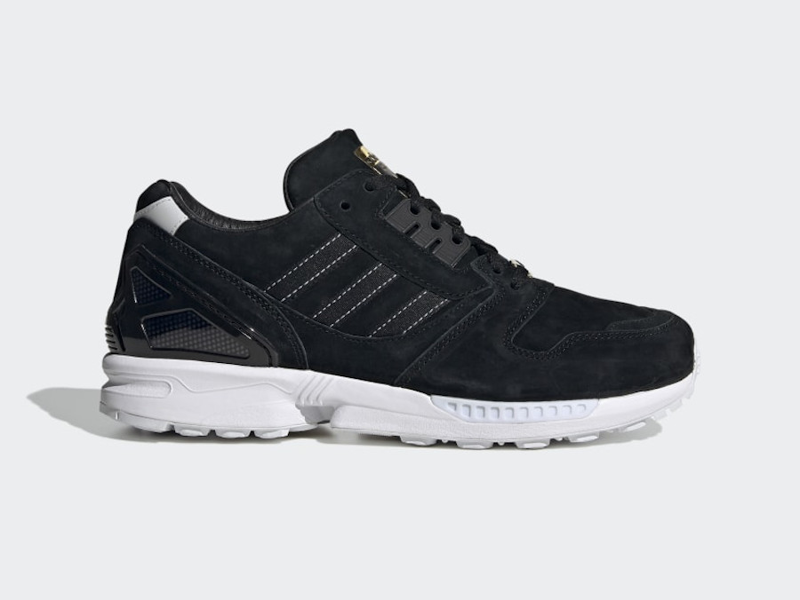 Adidas ZX 8000 Suede Core Black Cloud White (1)