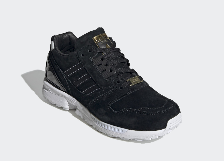 Adidas ZX 8000 Suede Core Black Cloud White (2)