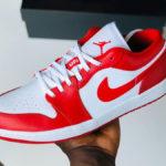 Air Jordan 1 Low 'Gym Red White'