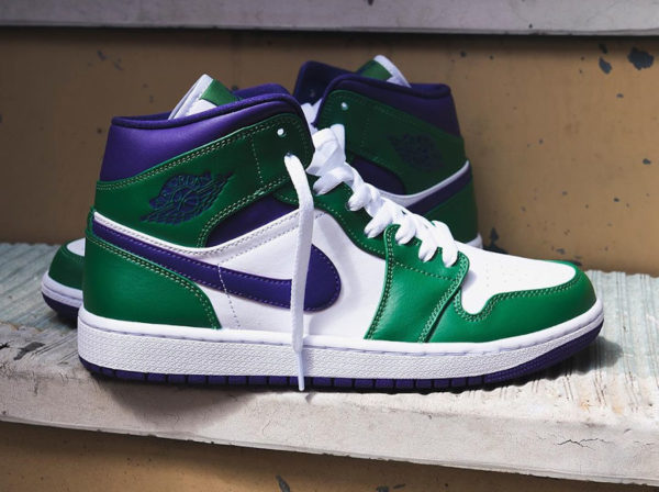 Air Jordan 1 Mid Incredible Hulk 554724-300