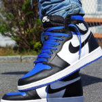 Air Jordan 1 Retro High OG 'Royal Toe' (Game Royal 2020)