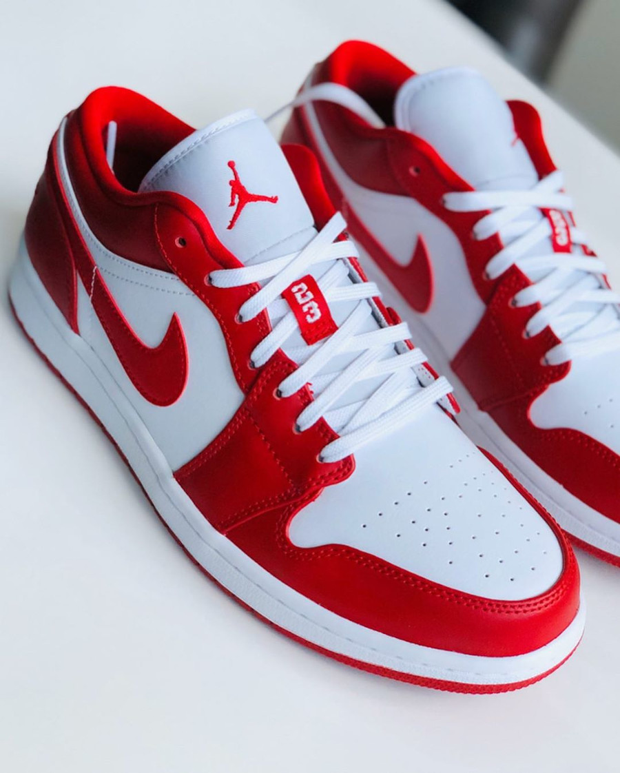 air jordan low rouge