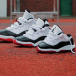Air Jordan XI Retro Low 'Gym Red' Concord Bred