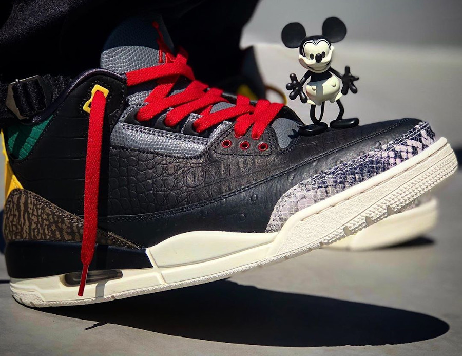 Air Jordan 3 Retro SE Animal Instinct 2.0 on feet