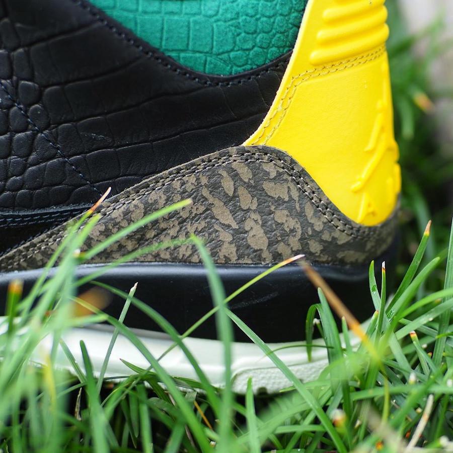 Air Jordan III Retro Se Black Cement Croc Snake Ostrich (4)