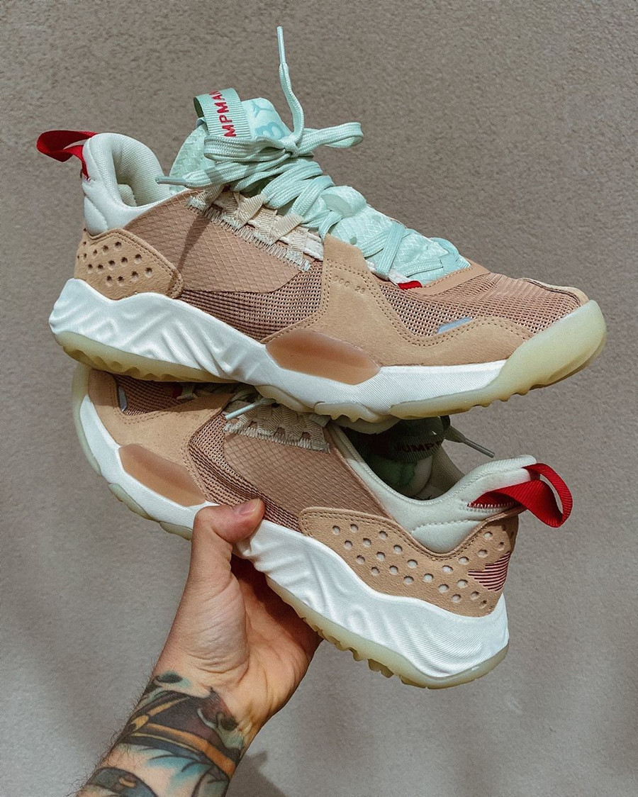 Jordan Delta SP Vachetta Tan Gym Red Jade Aura (7)