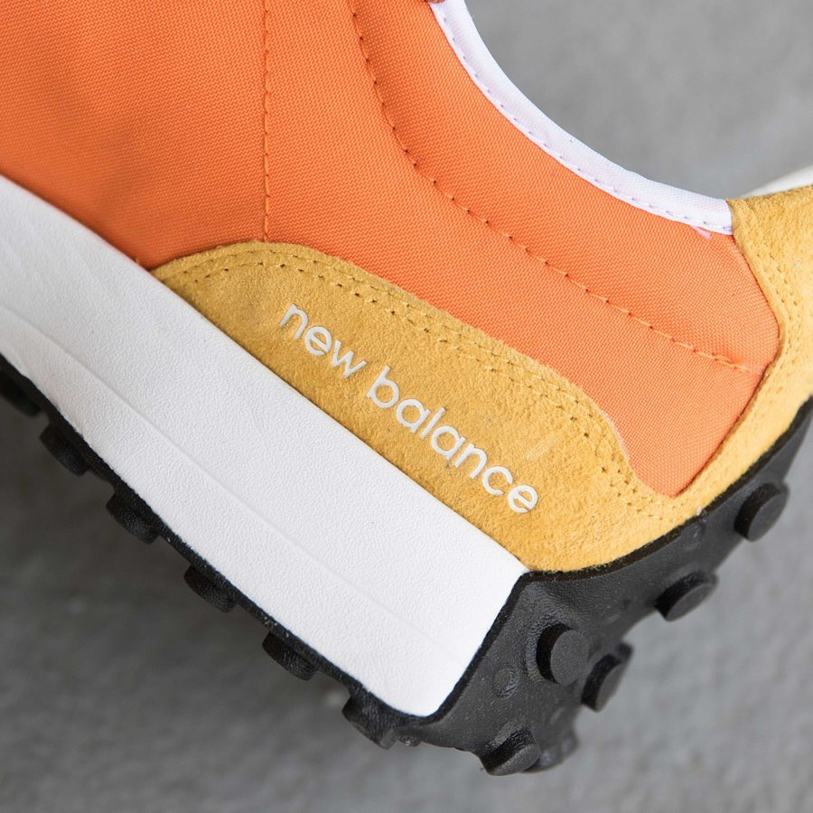 New Balance 327 Blue Orange Yellow (5)