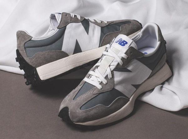 New Balance 327 Grey White (1)
